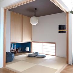 琉球畳/和室/LIMIAインテリア部/暮らし/住まい/わたしのGW やっとコタツが片付いた和室♪