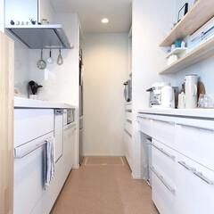 リクシル/LIMIAインテリア部/キッチン/住まい/おうち自慢 真っ白キッチン♡ 旧居では、汚れなどを考…