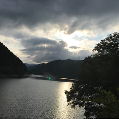 夏休み/BBQ/川遊び/summer/ペット/おでかけ 綺麗な景色に 美味しいご飯に めいっぱい…