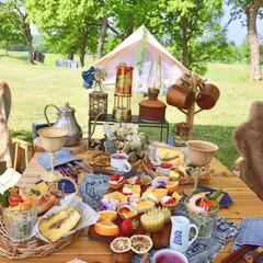 キャンプ夕飯/キャンプ飯/camp/キャンプ/フォロー大歓迎/LIMIAファンクラブ/... Camp Pic𓌅  キャンプの朝ごはん…