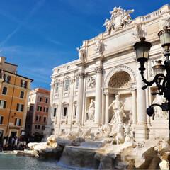 トレヴィの泉/旅行/旅/海外旅行/イタリア/イタリア旅行/... イタリア旅行✈️🇮🇹 トレヴィの泉✨