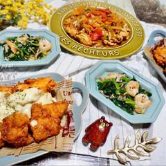 簡単ご飯/夕食/夕飯/LIMIAごはんクラブ/わたしのごはん/おうちごはんクラブ/...  ᴳᴼᴼᴰ ᴱᵛᴱᴺᴵᴺᴳ.*·̩͙.。…