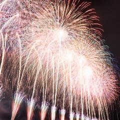 冬の花火/花火/花火大会/フォロー大歓迎/おでかけ/風景/... 長野県 えびす講煙火大会に行ってきました…