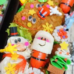 お弁当/キャラ弁/クリスマス弁当/フォロー大歓迎/クリスマス/フード/... ◌⑅⃝●♡⋆ᵍᵒᵒᵈ ᵐᵒʳᐢⁱᐢᵍ ⋆…(4枚目)