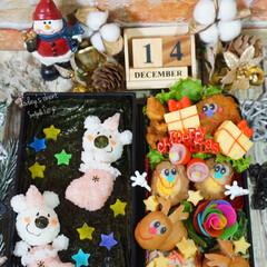 お弁当/デコ弁/クリスマス弁当/クリスマス/フォロー大歓迎/クリスマスツリー/...  ◌⑅⃝●♡⋆ᵍᵒᵒᵈ ᵐᵒʳᐢⁱᐢᵍ …