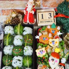 クリスマス弁当/デコ弁/お弁当/フォロー大歓迎/クリスマス/クリスマスツリー/...  ◌⑅⃝●♡⋆ᵍᵒᵒᵈ ᵐᵒʳᐢⁱᐢᵍ …