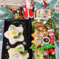 クリスマス弁当/デコ弁/ランチ/お弁当/クリスマスがやってきた!/2018/...  ◌⑅⃝●♡⋆ᵍᵒᵒᵈ ᵐᵒʳᐢⁱᐢᵍ …