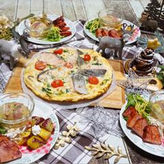 簡単料理/キッシュ/夕食/夕飯/2018/フォロー大歓迎/...  ♡ 今日の夕飯 ♡  ¹ ² 月 ¹ …