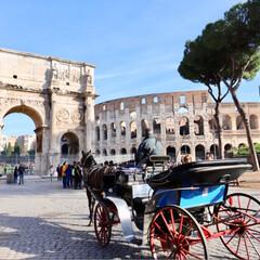 旅/旅行/コロッセオ/海外旅行/イタリア旅行/イタリア/... イタリア旅行✈️🇮🇹 コロッセオ🌈