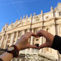 旅行/結婚記念日/海外旅行/イタリア/イタリア旅行/フォロー大歓迎/... イタリア旅行✈️🇮🇹 バチカン市国🇻🇦 …