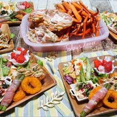 ベニズワイガニ/ワンプレート/夕食/夕飯/LIMIAごはんクラブ/わたしのごはん/...  ᴳᴼᴼᴰ ᴱᵛᴱᴺᴵᴺᴳ.*·̩͙.。…