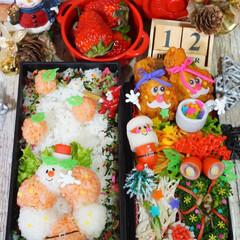 デコ弁/クリスマス弁当/クリスマス/お弁当/フォロー大歓迎/クリスマスツリー/... ¹ ² 月  ¹ ² 日*ೄ˚ 水曜日 …