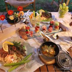 夕飯/キャンプ/暮らし/フォロー大歓迎/節約/LIMIAファンクラブ/... \ 𝙲𝙰𝙼𝙿 飯 /   𝙲…