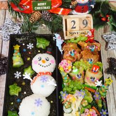 クリスマス弁当/キャラ弁/デコ弁/お弁当/フォロー大歓迎/グルメ/...  ◌⑅⃝●♡⋆ᵍᵒᵒᵈ ᵐᵒʳᐢⁱᐢᵍ …