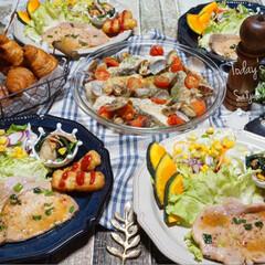 アクアパッツァ/ワンプレート/夕食/夕飯/LIMIAごはんクラブ/わたしのごはん/...  ᴳᴼᴼᴰ ᴱᵛᴱᴺᴵᴺᴳ.*·̩͙.。…