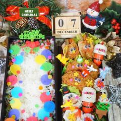 お弁当/キャラ弁/クリスマス弁当/フォロー大歓迎/クリスマス/フード/... ◌⑅⃝●♡⋆ᵍᵒᵒᵈ ᵐᵒʳᐢⁱᐢᵍ ⋆…(1枚目)