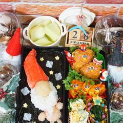 クリスマス/旦那弁当/デコ弁/リミアの冬暮らし/我が家のテーブル/リミアな暮らし/...   ◌⑅⃝●♡⋆ᵍᵒᵒᵈ ᵐᵒʳᐢⁱᐢ…