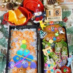 クリスマス弁当/デコ弁/お弁当/2018/フォロー大歓迎/クリスマス/...  ◌⑅⃝●♡⋆ᵍᵒᵒᵈ ᵐᵒʳᐢⁱᐢᵍ …