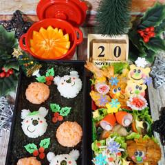 クリスマスお弁当/クリスマス/キャラ弁/お弁当/デコ弁/フォロー大歓迎/...  ◌⑅⃝●♡⋆ᵍᵒᵒᵈ ᵐᵒʳᐢⁱᐢᵍ …