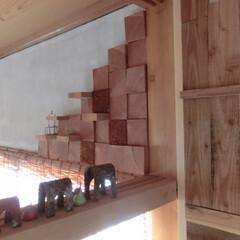 飾り棚/壁ⅮIY/インテリア 鴨居も、飾り棚に・・・