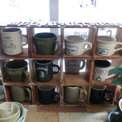 食器収納/マグカップ/100均/リメイク雑貨/整理収納/暮らし/... 日常マグカップはお茶にも・珈琲にもフル活…