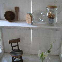 カフェ風/夏インテリア/リサイクル 美味しいプリンを頂いたあと・・・器の可愛…