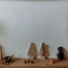 クリスマス/端材/木の雑貨/ナチュラル雑貨/アルファベット/プッシュピン/... ⅮIYで溜まった端材+おウチの中の木製グ…