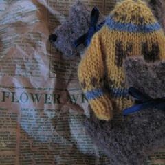 ほっこり/あったか/冬ニット/毛糸 手編みニットに包まれたい♡(編み物は永遠…