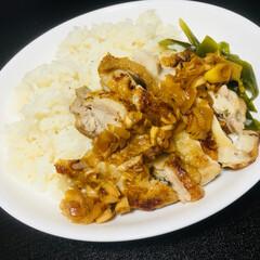 同棲/鶏肉/おうちごはん/節約 一時期ハマっていた 炊飯器で出来るカオマ…
