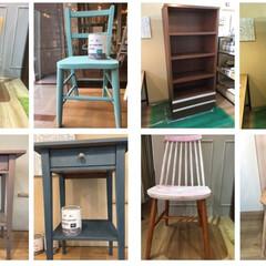 DIY/ペイント女子/リノベーションに最適/リノベーション/リメイク家具/アニースローン/... アニースローン 家具を変身させれます。