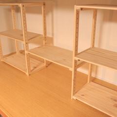 棚/リメイク/押入れ/DIY/ニトリ 押入れ改造してみました。 詳しくはブログ…