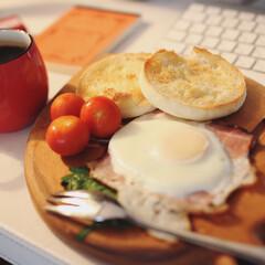 男飯 先日の朝食♪