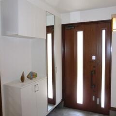 玄関/リフォーム/断熱/収納/開放的 【リフォーム施工事例】 玄関のスペースを…