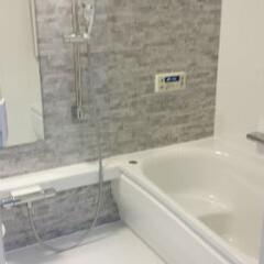 浴室/お風呂/リフォーム/TOTO/浴槽/高級感/... 【リフォーム施工事例】 壁柄は人気色であ…