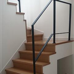 階段/階段フェンス/階段手摺/手摺/アイアン/ロートアイアン/... 大人気!特注ロートアイアン製階段フェンス…