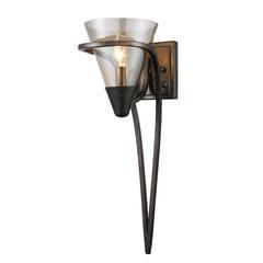 照明器具/ウォールライト/ブラケットライト/お洒落/LED/アンティーク/... おしゃれなガラスシェードのウォールライト…
