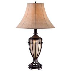 照明器具/テーブルスタンド/テーブルランプ/アンティーク/おしゃれ/LED/... 本体部分にもほのかな明かりが灯るタイプの…
