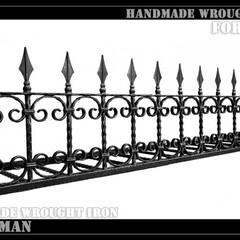 ロートアイアン/アイアン/ロートアルミ/アルミ/お洒落/おしゃれ/... #1851 矢じり付きデザインの花台です。