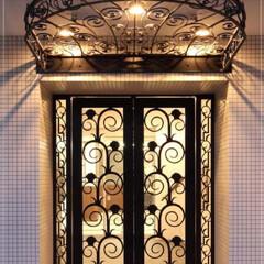 ロートアイアン/アイアン/ロートアルミ/アルミ/特注/オリジナル/... #597 オリジナルデザインの素敵な庇に…