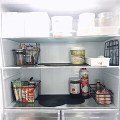 冷蔵庫/キッチン/キッチン雑貨/雑貨/100均/ダイソー/... 冷蔵庫収納