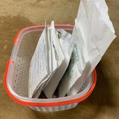 ラベリング/薬の管理/薬の収納/100均/オムツ交換 1日分の薬の収納です。 1週間分を管理す…(2枚目)