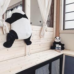 子供部屋インテリア/子供部屋/暮らしを楽しむ/DIY/インテリア/家具/... 実は、我が家にはミニサイズのパンダくんが…