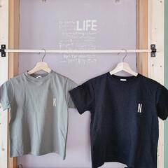 Tシャツリメイク/Tシャツ/GU/おすすめアイテム/LIMIAインテリア部/LIMIA手作りし隊/... GUで購入した無地Tシャツに、  子供た…