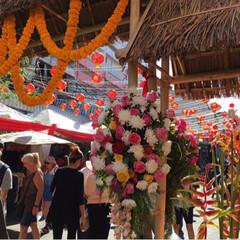 祭り/旅行 友人からのフォト集 タイのチャイニーズニ…(4枚目)