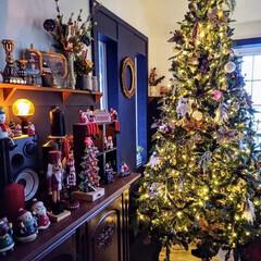 デコレーション/ツリー/クリスマス/リビング/クリスマスツリー あと一週間でクリスマス!  サンタクロー…