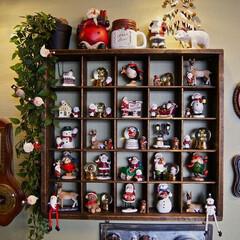 クリスマス/デコレーション/飾り/サンタクロース/100均/クリスマス2019 毎年増えてるクリスマスの小物達。  今年…