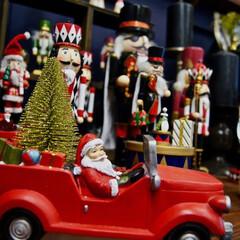 クリスマス/クリスマスデコレーション/サンタクロース/くるみ割り人形/クリスマス2019 家にはたくさんのクリスマスグッズがありま…