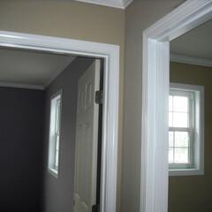 輸入住宅/塗装/ドライウォール/ドライウォーラー/AEP塗装 天井壁 ドライウォール・プライマーサフェ…(1枚目)