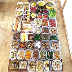 ストック食材/下味冷凍/おうちごはん/常備菜/作り置きおかず/つくりおき/... 今週の作りおきたち