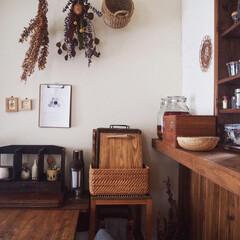 うつわ/ドライフラワー/模様替え/古道具/木の家/レトロ/... こんばんは☺️ 久しぶりの写真投稿になっ…